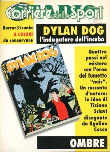 DYLANDOGOMBRE001 Fuori Serie Dylan Dog