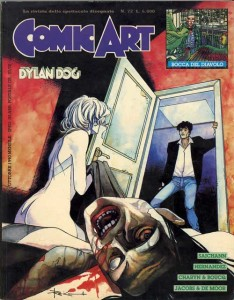 comics art 73 Fuori Serie Dylan Dog