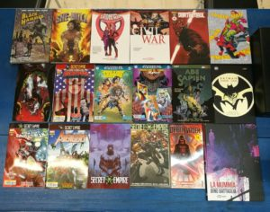 Comics Marvel e DC