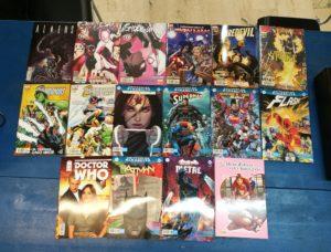 Comics Panini Comics, RW Lion, Saldapress