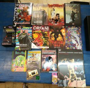Comics e Cartonati
