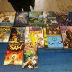 Bao Publishing, RW Lion, Panini comics, Sergio Bonelli Editore, Oscar Inc.