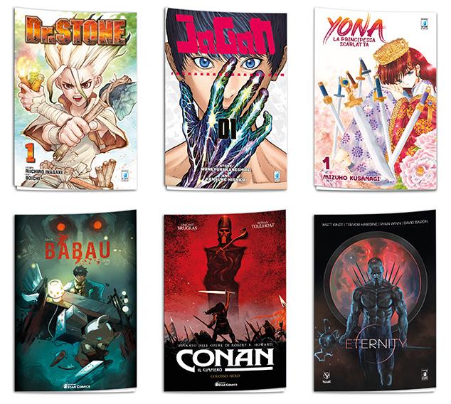 Fumetti del Free Comics Book Day della Star Comics 2018