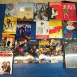 Bao Publishing, Lizard, Panini Comics, Sergio Bonelli Editore, J-POP, RW Lion